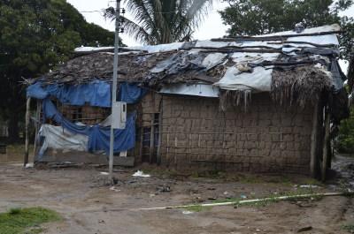Casas da Aldeia Boto Velho necessitam de melhorias. Foto Lauane dos Santos - Governo do Tocantins.JPG