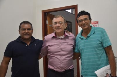 Parceria com o Prefeito Vlademir de Pim para melhorias nas Aldeias próximas. Foto Lauane dos Santos - Governo do Tocantins.JPG