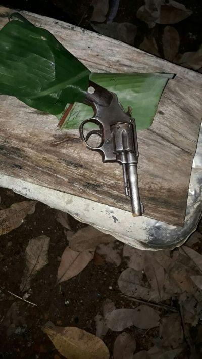 Arma de fogo usada durante homicídio em distribuidora é apreendida pela PM, em Palmas
