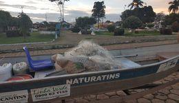 Fiscalização do Naturatins apreende de cerca de 7 mil metros de redes de pesca