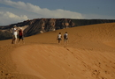 Entre os atrativos mais procurados estão as Dunas, cartão postal do Jalapão, composto por areias finas e alaranjadas que chegam a 40 metros de altura - Thiago Sá/Governo do Tocantins