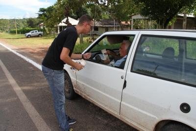 Motoristas receberam orientações