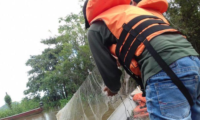 Balanço parcial da piracema aponta mais de 21 mil metros de redes apreendidas