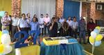 Apresentações culturais com estudantes da rede municipal marcaram a data, além de um bolo de aniversário que foi distribuído para população