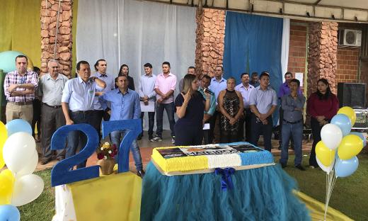 Vice-governadora entrega benefícios durante aniversário de Mateiros