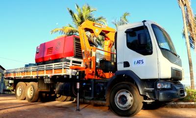 Com investimento de R$ 260 mil, ATS adquiriu caminhão munck