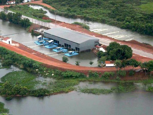 A região sudoeste, especialmente os municípios de Formoso do Araguaia, Lagoa da Confusão e Pium, teve as lavouras inundadas pelas fortes chuvas neste início de ano
