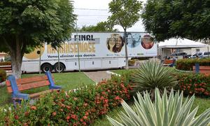 Projeto Roda Hans-Carreta da Saúde foi lançado no Estado nessa segunda, 19; carreta possui cinco consultórios e um laboratório de detecção e diagnóstico da hanseníase
