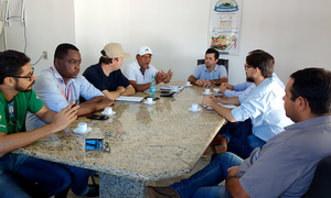 Nessa quarta-feira, 23, representantes da Seagro, Ruraltins e dos parceiros envolvidos se reuniram em Almas para apresentar os detalhes do Dia de Campo da Piscicultura