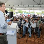 Evento contou com a participação de prefeitos e representantes dos municípios atendidos pela ATS, além de políticos e lideranças locais