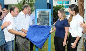 O governador Marcelo Miranda inaugurou, na manhã desta quinta-feira, 22, a sede própria da Agência Tocantinense de Saneamento (ATS)