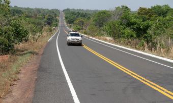 As obras compreendem cinco trechos de rodovias estaduais que receberam pavimentação, recuperação e sinalização asfáltica