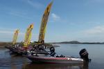 """O encontro """"Canoeiros e Amigos"""" acontece neste sábado, 24, próximo à praia Graciosa, das 9 às 19h, em Palmas"""