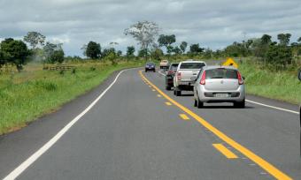 Foram entregues, nesta etapa, 176,76 km de rodovias recuperadas pelo Programa de Desenvolvimento Regional Integrado e Sustentável (PDRIS)