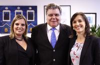 O ministro do Meio Ambiente, Sarney Filho, participa da abertura da Conferência Regional de Mobilização para o 8º Fórum Mundial da Água, em Palmas