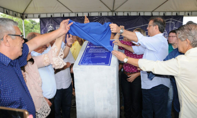 O governador Marcelo Miranda inaugurou 176,76 km de rodovias recuperadas pelo Programa de Desenvolvimento Regional Integrado e Sustentável (PDRIS)