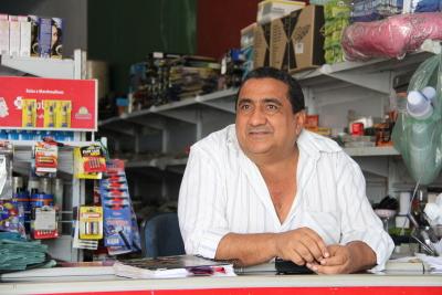 Para o dono do Supermercado São Pedro, Pedro de Alcântara, em Barra do Ouro, depois dda rodovia reconstruída aumentou até o numero de vendedores de mercadorias
