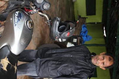 Chacareiro Afonso Alves da Silva mora a 7 km da TO-424, no município de Babaçulândia