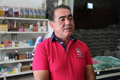 Murilo Correia Silva, proprietário da Agronegócios, Cereais e Similares de Babaçulândia