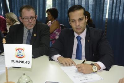 Presidente do SINDEPOL-TO é empossado como membro do Conselho Gestor do FUMPOL-TO