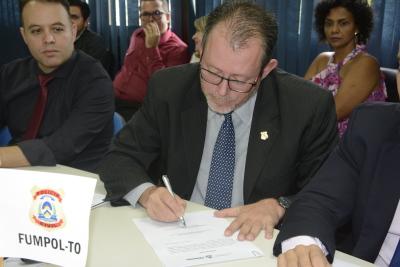 Presidente do SINPOL-TO é empossado como membro do Conselho Gestor do FUMPOL-TO