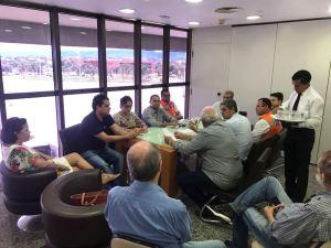 Também participaram dos encontros representantes da Defesa Civil, Aproest, Seagro, Setas, Ageto, Seplan e Seinf