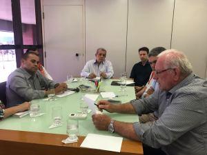 As reuniões ocorreram na Casa Civil, localizada no Palácio Araguaia