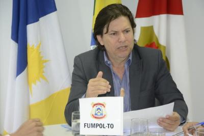 Secretário Executivo do FUMPOL-TO apresenta termo de cooperação firmado pela SSP