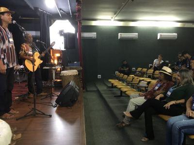 A superintende do Desenvolvimento da Cultura, Noraney de Castro, que acompanhou a programação da manhã, acredita que o evento é de relevância para a classe artística do Estado