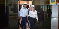 Vice- Governadora Visita o Detran