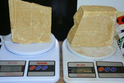 2kg de pasta base de cocaína apreendidos pela Denarc em Palmas