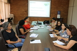Grupo Gestor Estadual do Programa BPC na Escola em reunião na Setas
