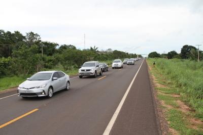 Novos trechos de rodovias atenderão ao grande tráfego na região de Araguatins no Bico do Papagaio