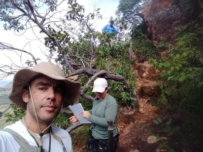 O superintende de Desenvolvimento Turístico do Estado, James Possapp, acompanhou os trabalhos dos técnicos da Seden e do Naturatins