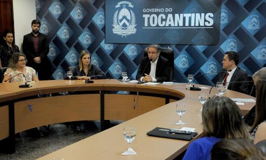 Marcelo Miranda ressaltou que as ações da Unicet são parte da política de  investimentos, do Governo do Estado, em educação e capacitação dos servidores