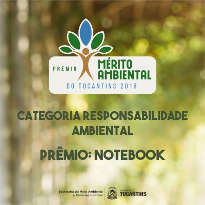 Ação tem o objetivo de  fomentar e celebrar as boas práticas de sustentabilidade