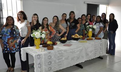 Dia Internacional da Mulher foi comemorado com um café da manhã - Núbio Brito/Governo do Tocantins