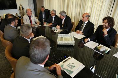 PGE Sérgio do Vale participa de encontro onde Executivo e Judiciário discutiram regularização fundiária no Tocantins