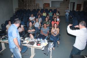 O treinamento às servidoras teve a participação do vice-presidente do Naturatins, Edson Cabral