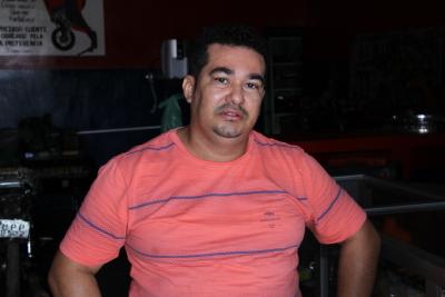 Isaías Sousa Santos, mecânico de motos