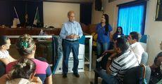 As visitas aos municípios contou com a participação do superintendente de habitação, Jorge Mendes