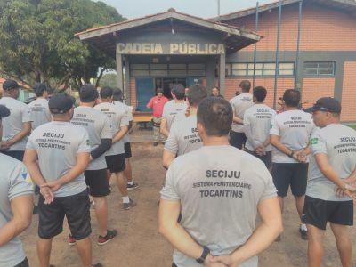 Treinamento para os servidores sobre os procedimentos de rotina dentro das unidades prisionais.