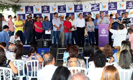 Também foi inaugurado um complexo que vai abrigar todas as delegacias de Polícia Civil do município