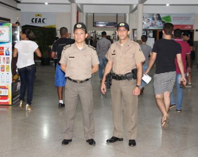 Comandante Geral acompanhou de perto o trabalho em Palmas..JPG