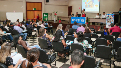 59 municípios participam da capacitação do Selo Unicef em Palmas