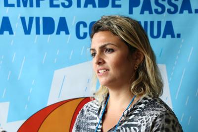 Marília Martins, é técnica de referência em Sandolândia