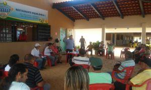 """""""A Federação da Pesca do Tocantins nos sugeriu que fosse reduzido o tamanho de algumas espécies e aumentado o de outras"""", disse Natal Cesar"""