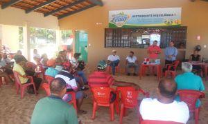 Naturatins participou no sábado, 10, de reunião com pescadores profissionais da Colônia de Pescadores Z 10, localizada na Praia da Arnos em Palmas