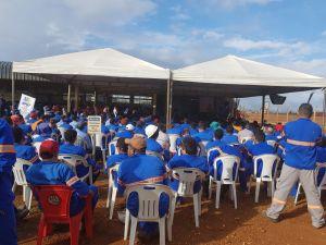 Palestra realizada pela PM em Pedro Afonso