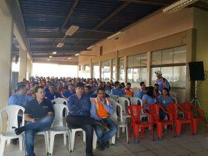 Funcionários da BUNGE participam de palestra promovida pela PM